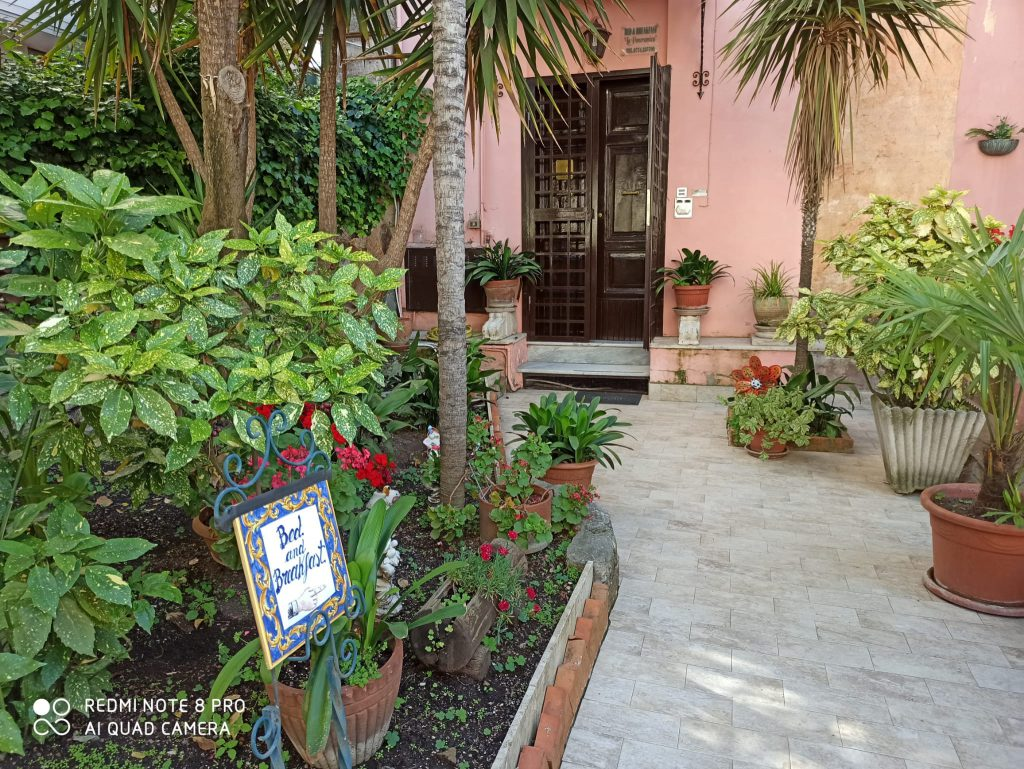 Bed and Breakfast La Panoramica - Ingresso