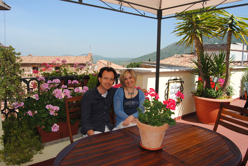 Bed and Breakfast Villa d'Este - Terrazzo - I proprietari