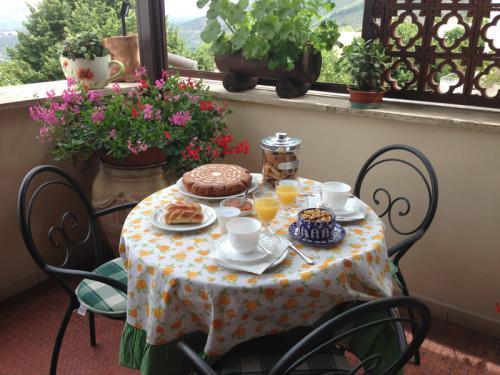 Bed and Breakfast La Panoramica - Colazione in Terrazzo