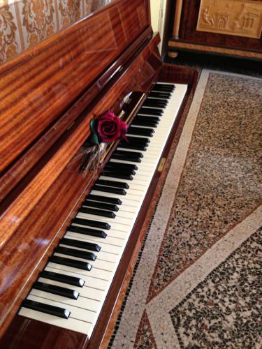Bed and Breakfast La Panoramica - Sala Colazione - Pianoforte